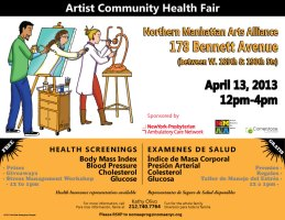 Word Up pops up at Artist Community Health Fair