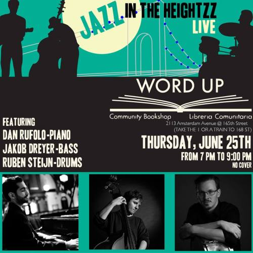 June 25 - Jazz in the Heightzz